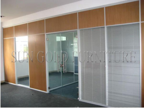 China Modern Glass Board Panel System Partition Used Office Room