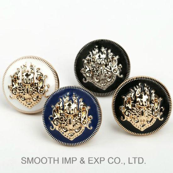 Wholesale Promotion Fashion Metal Garment Accessory Button Hardware Decoration Fastener
