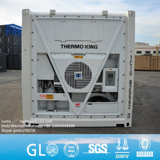 Brand New CCS Gl BV Certified 40FT High Cube Thermo King Reefer Container  Price