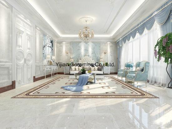 Grey Color Glaze Plished Tile High Quality Good Design