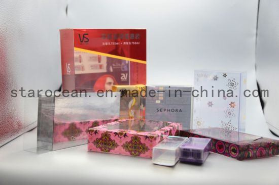 Plastic Packaging Printing Cosmetic Box