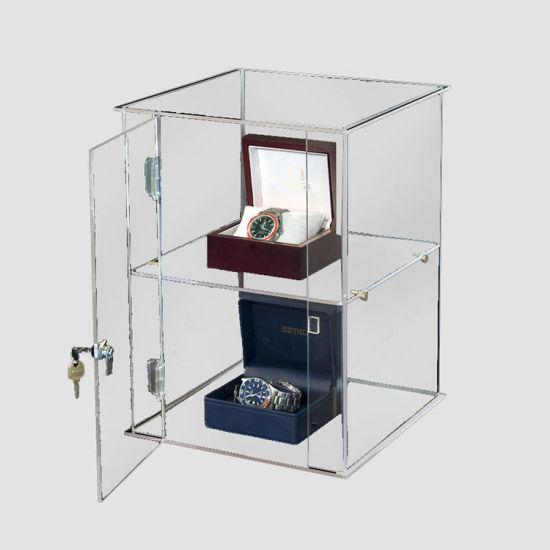 Acrylic Display Cabinet/Acrylic Display Rack With Lock (AD 1427)