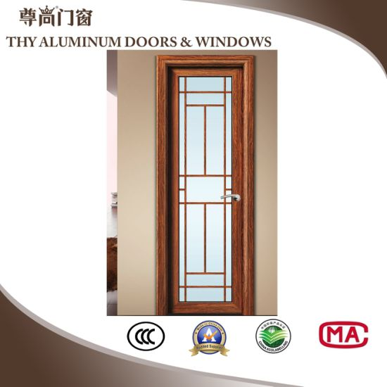 Aluminium Alloy Hinged Doors with Stainless Steel Accessories pictures & photos