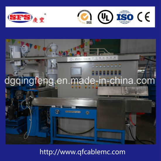 Wire and Cable Chemical Foaming Extrusion Extruder Extruding Machine Production Line pictures & photos