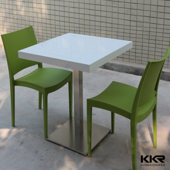 Etonnant Kkr Modern Design Acrylic Solid Surface Dinning Table With Chair