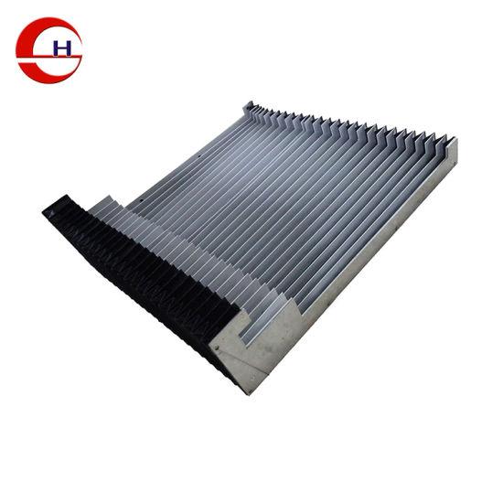 Flexible Nylon Accordion Dust CNC Machine Protection Linear Guide Rail  Bellow Covers