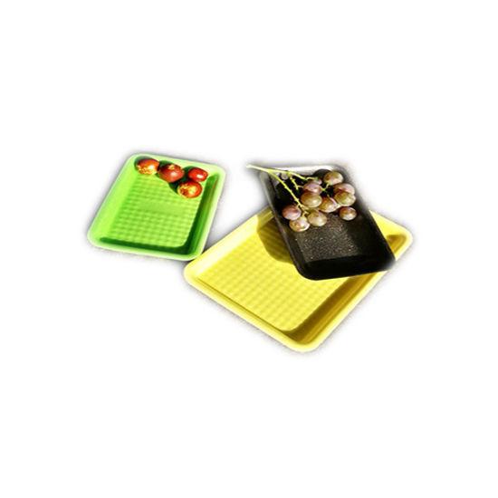 2018 Customed Eco-Friendly Nonhazardous Packing Foaming PLA Plastic Food Grade Tray