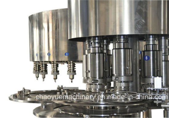 (RCGF24-24-8) Automatic 8000-10000bph 3in1 Juice Filling Machine pictures & photos