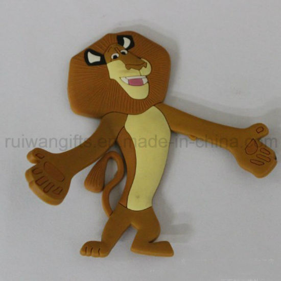 3D Animal PVC Rubber Fridge Magnet Decoration