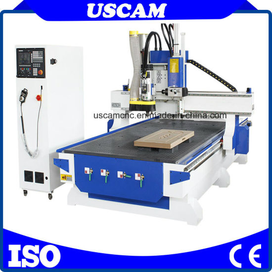 CNC Wood Lathe with Automatic Tool Changer