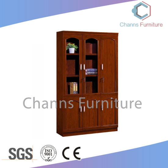 Luxury Office Furniture Wooden Veneer File Cabinet Cas Sw1729