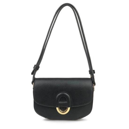Women Genuine Saffiano Leather Designer Crossbody Messenger Bag