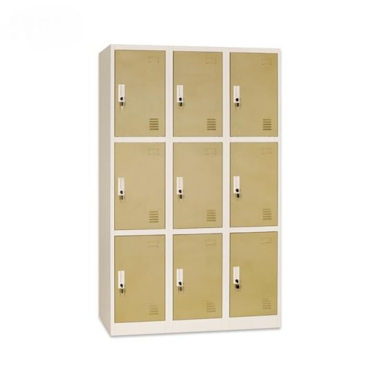 Blue Color Metal Office Storage Cabinet Locker,Small Locker for Personal Storage Bag File and Phone,Office Changing Room Locker