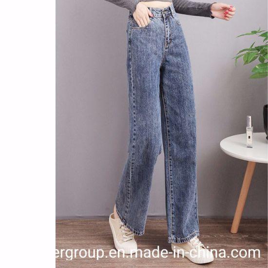 China Las Chicas De Moda Pantalones Flojos Comodos Pantalones Vaqueros Denim Jeans De Mujer Comprar La Mujer Jeans En Es Made In China Com