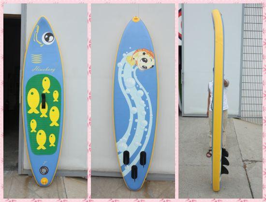 Chine Nouveau Style Petites Boarf Surf Avec Des Poissons Pattern Pour Les Enfants Jouer Sur L Eau Acheter Planche De Surf Sur Fr Made In China Com