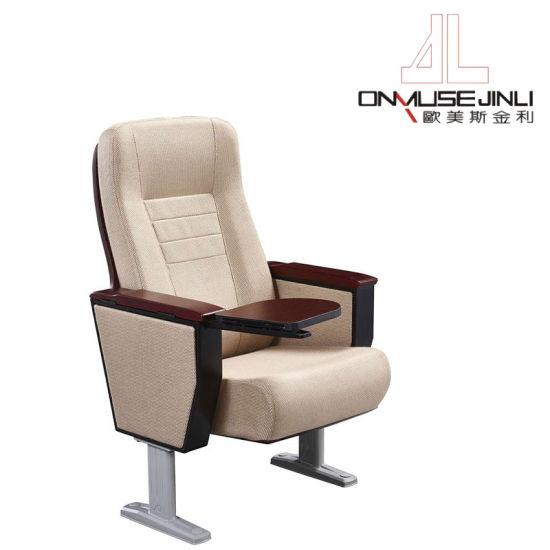 China El mobiliario público Auditorio cómoda silla de madera