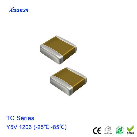 3216 Métrica de 220pF 200V 1206 paquete: 10,25,50 o 100 condensadores SMD Chip Cerámica