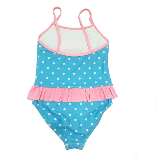 Ba/ñadores ni/ña Trajes de ba/ño ni/ña Swimwear Polka Dot Ruffles Bikini Swimsuit Beach One Piece