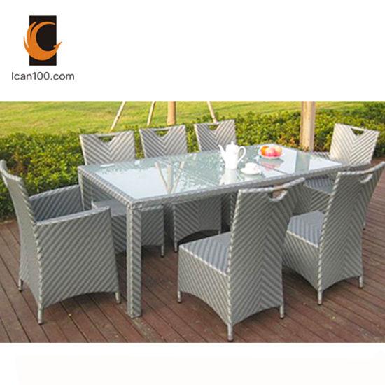 China Norma Americana mesas y sillas de exterior Huerto ...