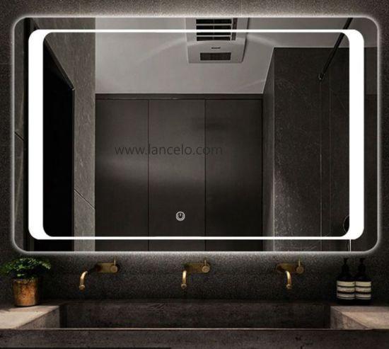 Chine Salle De Bains Led Lumineux Miroir Retroeclaire