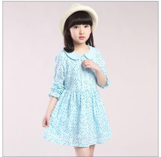 China Boutique Prendas De Vestir Niñas Levita Algodón Banda