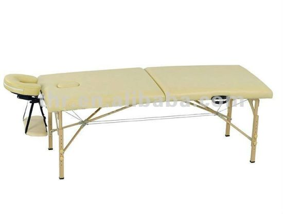 WT003A Table de bois pliantes portablethr massage Chine kwOn0P