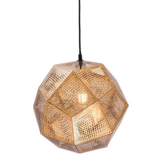 Acheter La Gravure De L Ombre Lampe, Gold Mesh Lamp Shade