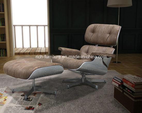 Presidenza pranzante di cuoio di Eames del Chaise di svago moderno del salotto