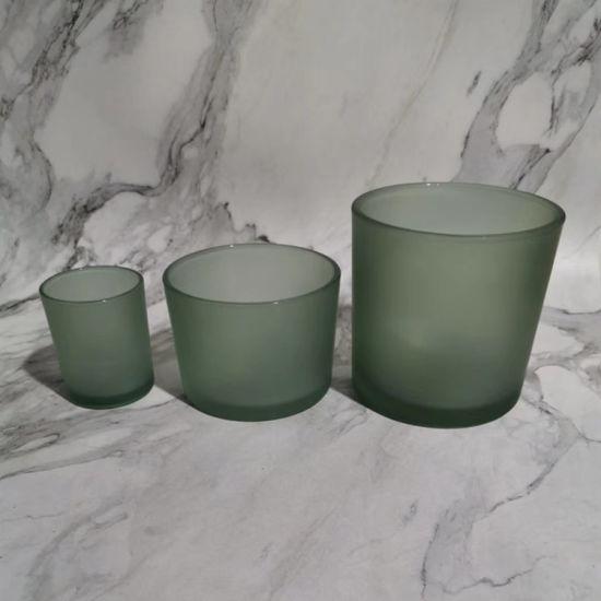 DOUYA Bougeoir en Verre Vases votifs Abat-Jour en Verre Transparent Transparent Cylindre Droit Abat-Jour en Verre