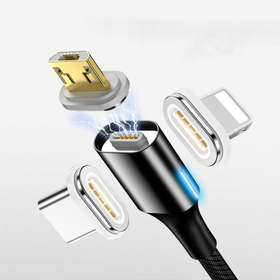 cable chargeur telephone portable aimanté