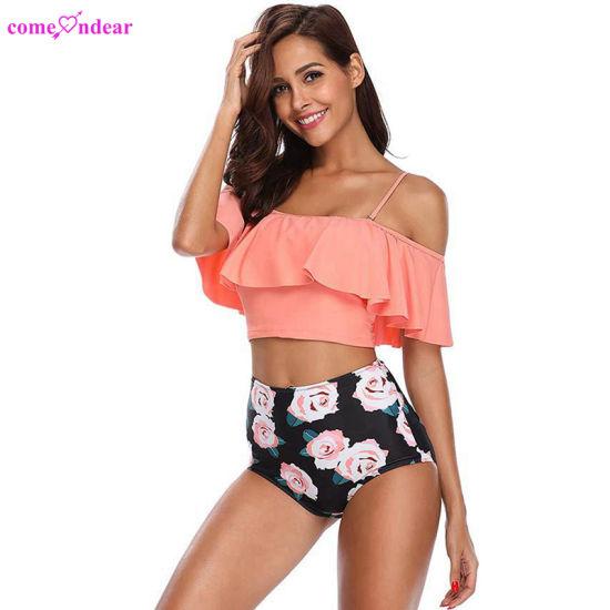 b8e8d36ae7c1 Comercio al por mayor xxx chica Bikini traje de baño para mujeres maduras
