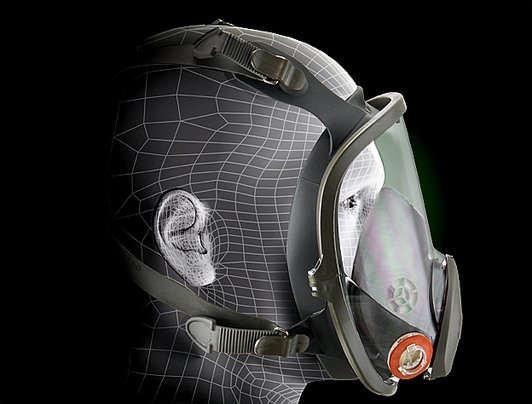 maschera antigas 3m 6800
