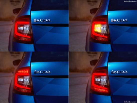 nuevo Octavia luz China 2018 trasera La para Skoda desde QoCeWrxBEd
