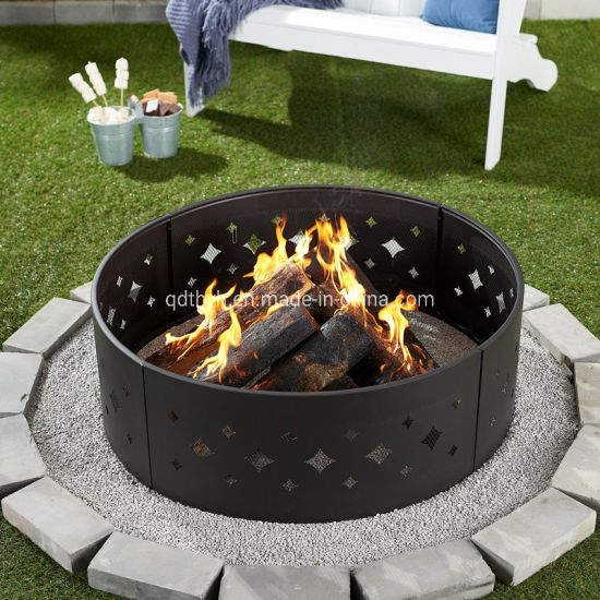 China 36 Steel Lareira Pit Ring Compre Fire Pit Ring Em Pt Made In China Com