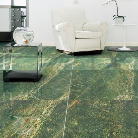 China Badezimmer Grün Farbe Porzellan Fliesen Aus Marmor ...