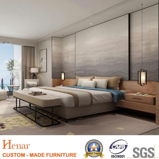 Mobilia moderna cinque stelle della camera da letto dell\'hotel di Sofitel  di alta qualità da vendere