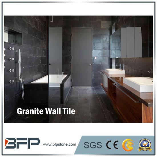 Granit naturel noir 30X45 carrelage mural de cuisine pour la décoration  intérieure