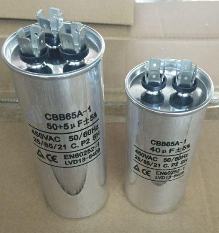 Condensadores De Todos Los Tamaños Inicio Ejecutar Motor Compresor Aire acondicionado Agua Bomba De Aire