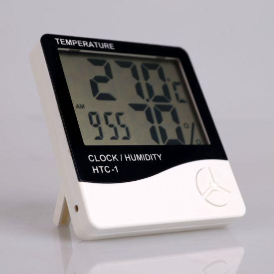 Les thermomètres numériques et les hygromètres HTC 1