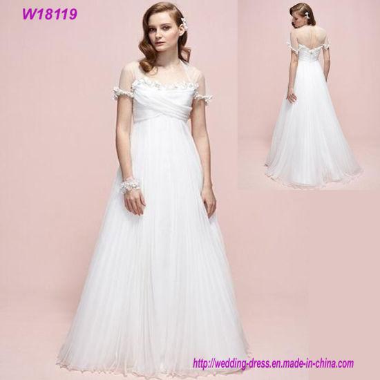 save off 87b3d dc307 Fatto in Cina più i vestiti da cerimonia nuziale poco costosi pieni sexy di  Tulle di formato