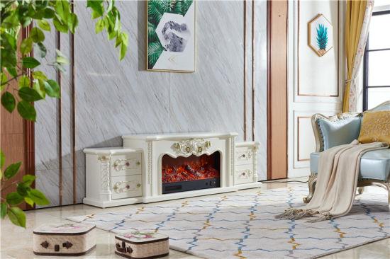 Chine Salon moderne meuble TV Cheminée électrique mobilier ...