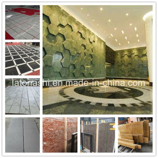 Beige / Noir/Blanc/gris/rouge/marron/jaune/vert carrelage de marbre pour  l\'Étage/Flooring/mur