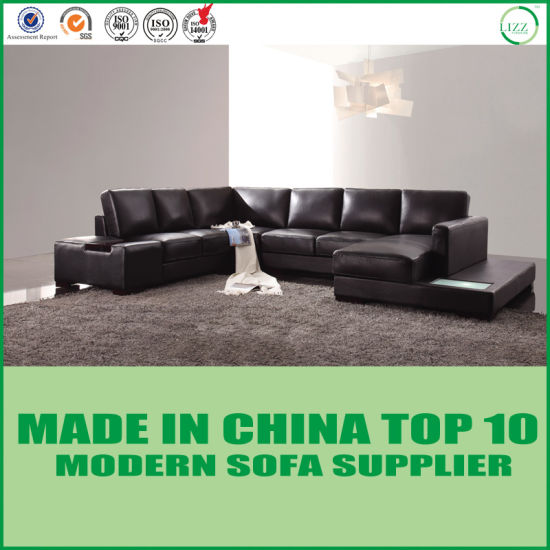 Chine Accueil Jeu de meubles de salon moderne canapé en cuir ...