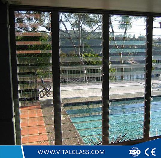 China Grünes/blaues/Bronzeluftschlitz-Glas für Glas des ...