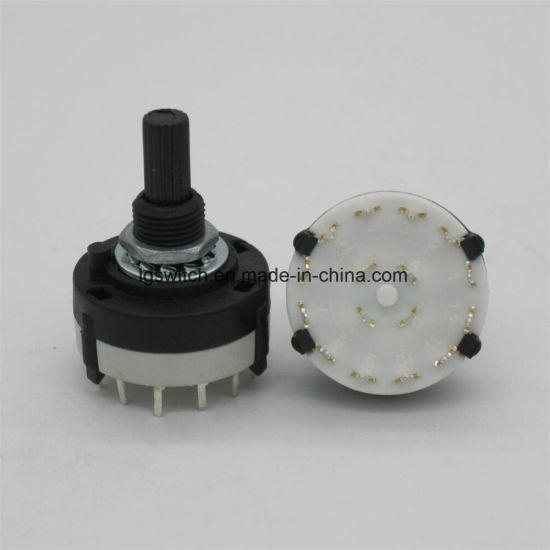 bouton Bande Commutateur Rotatif sélecteur de canal 3 Deck 3 Pole 8 position focale 3P8T