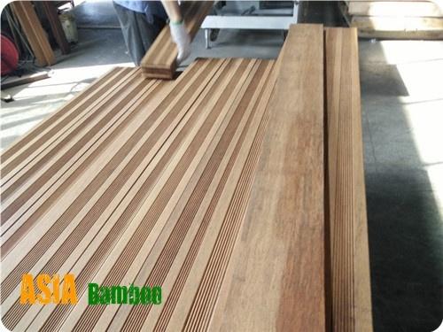 China Revestimientos De Bambú En El Exterior Terraza