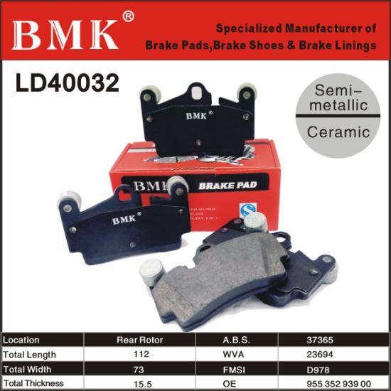Accessoires-Jeu plaquettes de freins disques plaquette de frein avant pour Porsche Cayenne 955