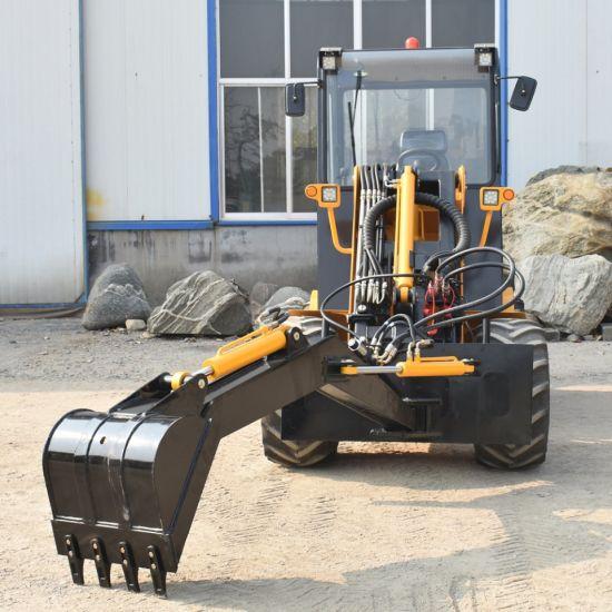 Les machines agricoles de l'équipement chargeur Skid Steer accessoire de rétropelle chargeuse à roues de bras de pivotement Digger
