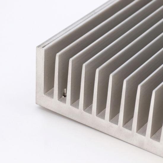 229x113x26mm en alliage d/'aluminium dissipateur de chaleur pour DEL 2x20W//30W//40W//50W60W Argent Blanc