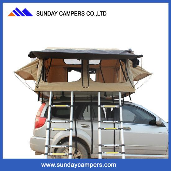 Camping Auto Tent Rooftop Tent Met Dubbele Ladders Buy